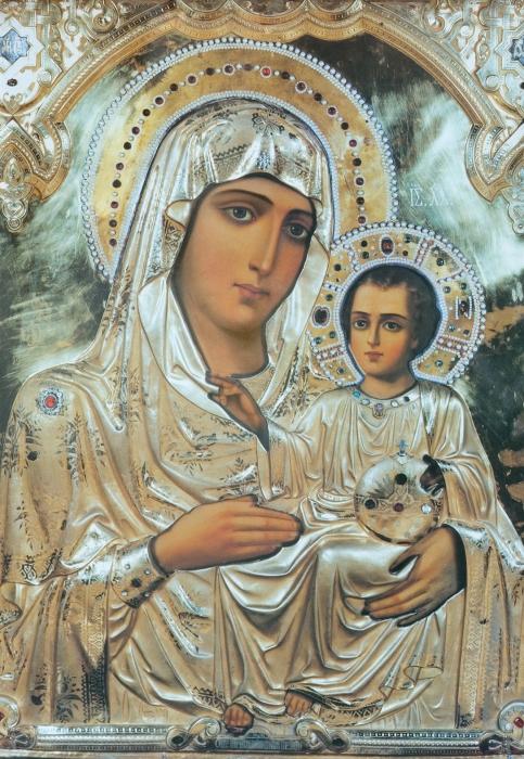 икона божией матери иерусалимская фото