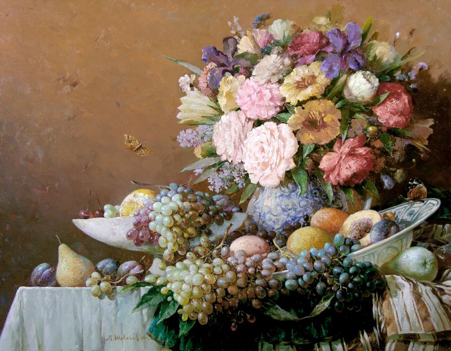 Натюрморт фото цветов и картин с цветами