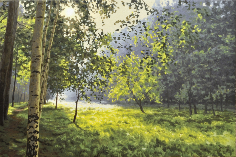 Картины природы известных художников картинки