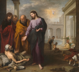 Bartolomé Esteban Murillo - Christ healing the Paralytic at the Pool of Bethesda